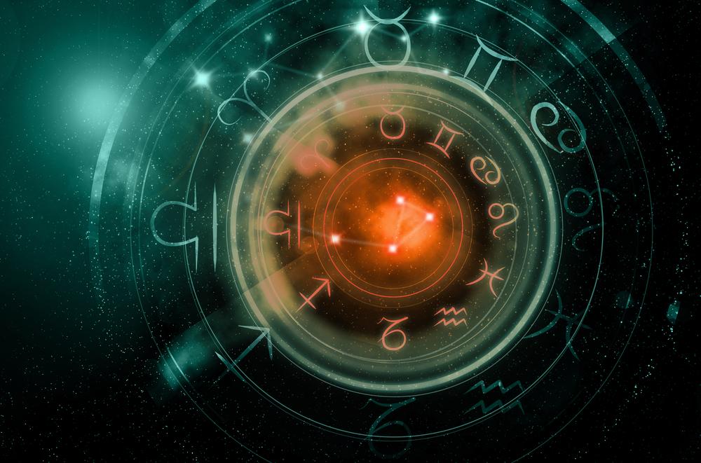 Imagine cu zodiile din cadranul zodiacal