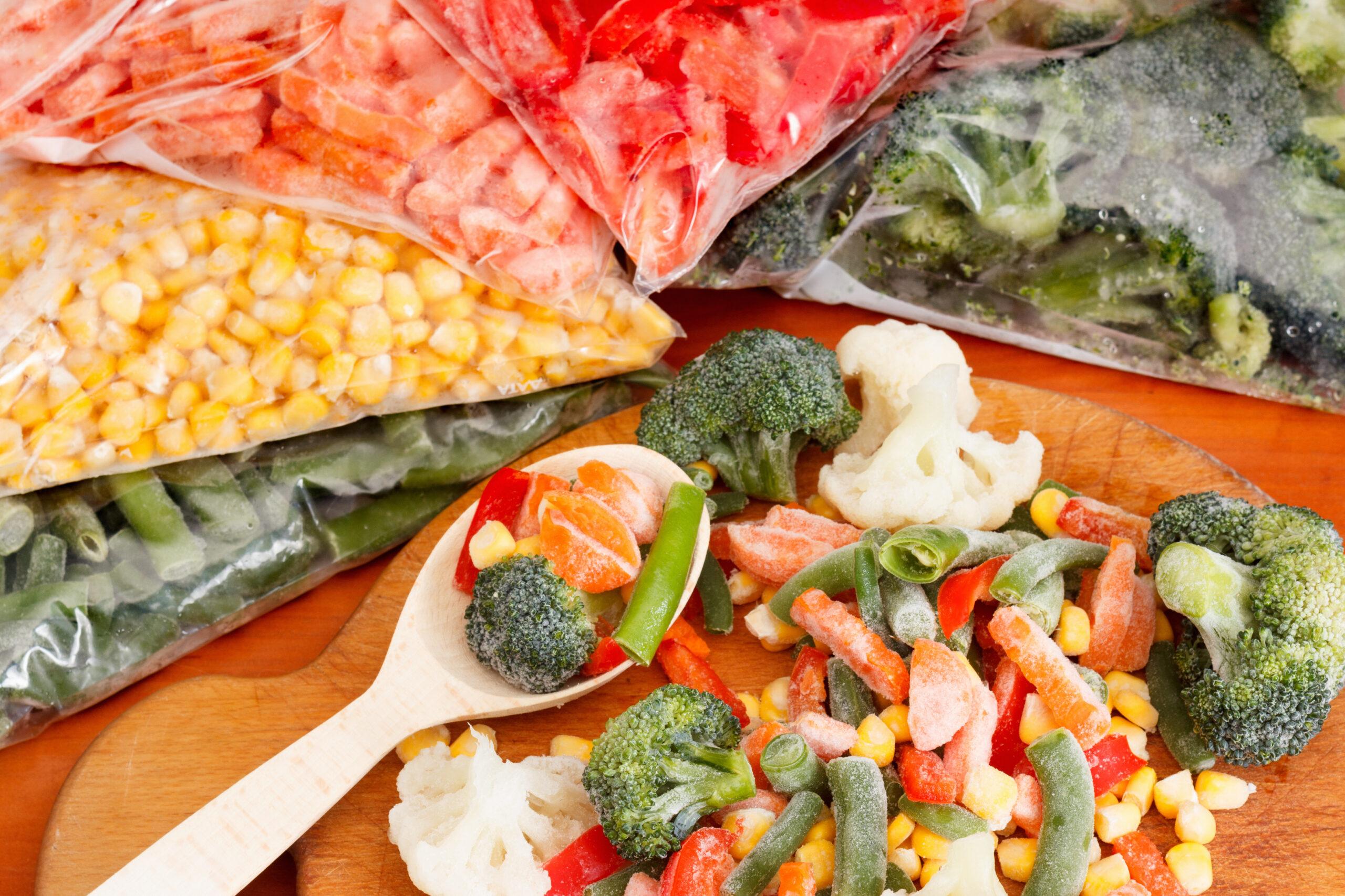 Imagine cu mixuri de legume congelate