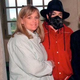 Debbie Row alături de michael jackson