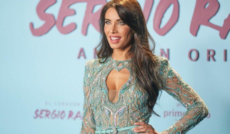 Pilar Rubio, imagine de pe covorul roșu, la premiera documentarului despre viața soțului său