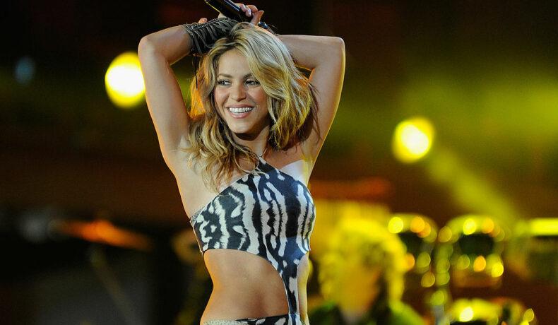 Shakira cântă la Cupa Mondială de Fotbal din 2010