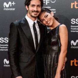 Ursula Corbero alături de iubitul ei, Chino Darin