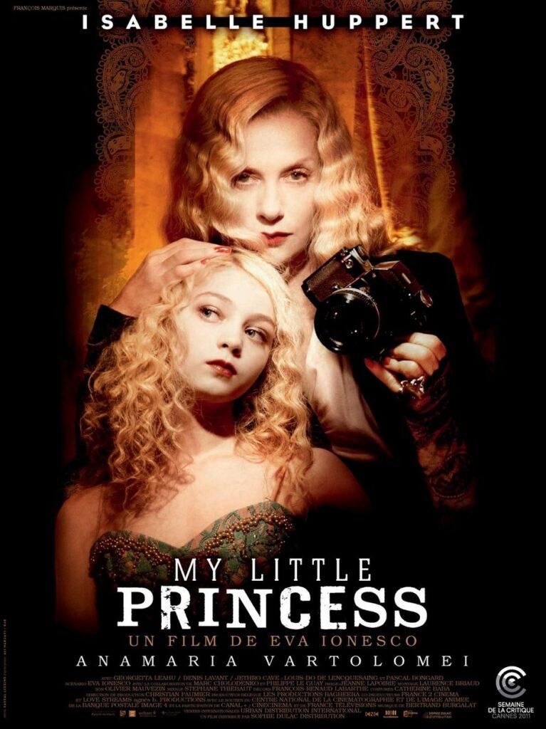 Anamaria Vartolomei, în rolul Violetei din producția My Little Princess, regizată de Eva Ionesco