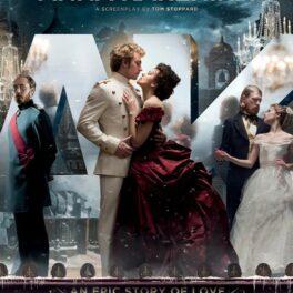 Afișul filmului Anna Karenina cu Keira Knightley