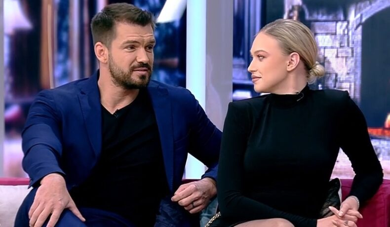 Gina și Bogdan Vlădău, împreună pe canapeaua de la Neatza cu Răzvan și Dani
