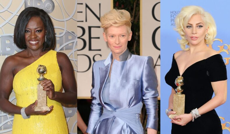 Colaj cu Viola Davis, Tilda Swinton ;i Lady Gaga