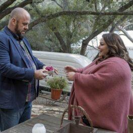 Scena cu cererea în căsătorie a lui Chrissy Metz, în rolul lui Kate din serialul This is Us