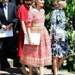 Cressida Bonas, fotografiată la nunta Prințului Harry cu Meghan Markle