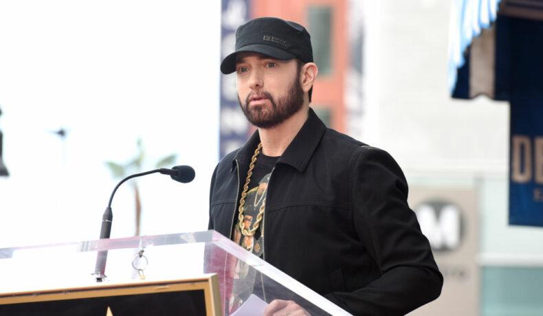 Eminem, la ceremonia lui 50 Cent de pe Walk of Fame