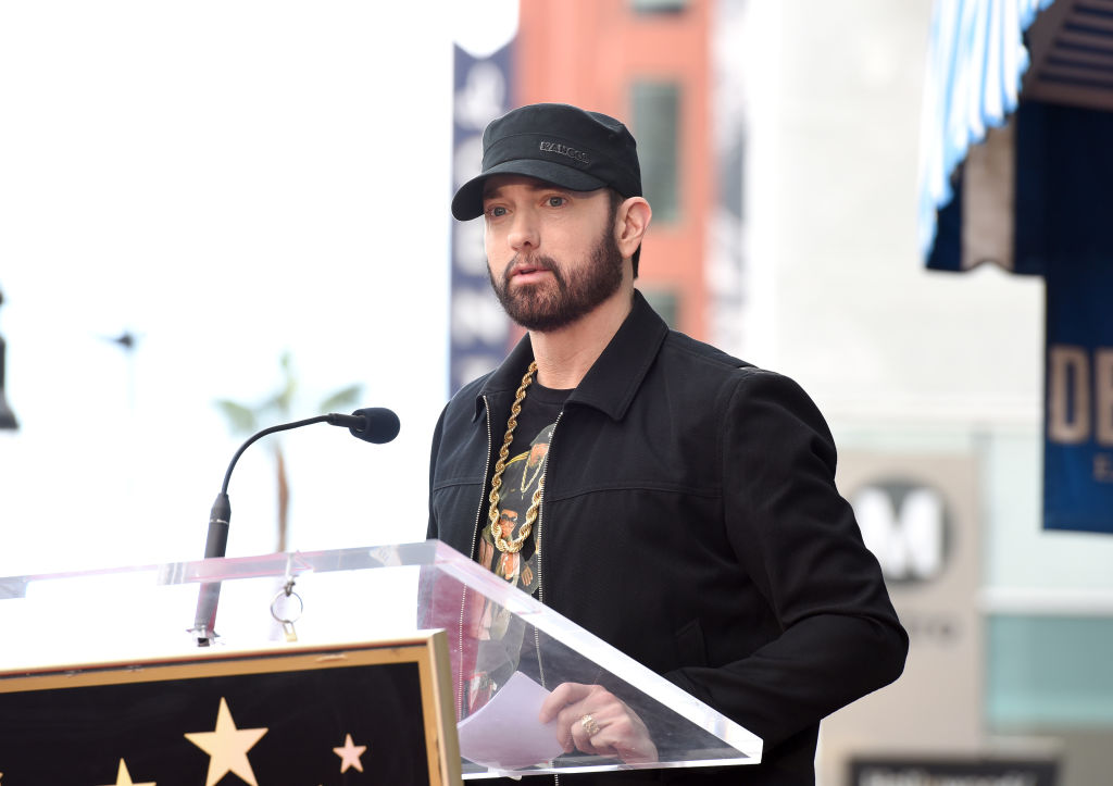 Eminem, la ceremonia lui 50 Cent de pe Walk of Fame