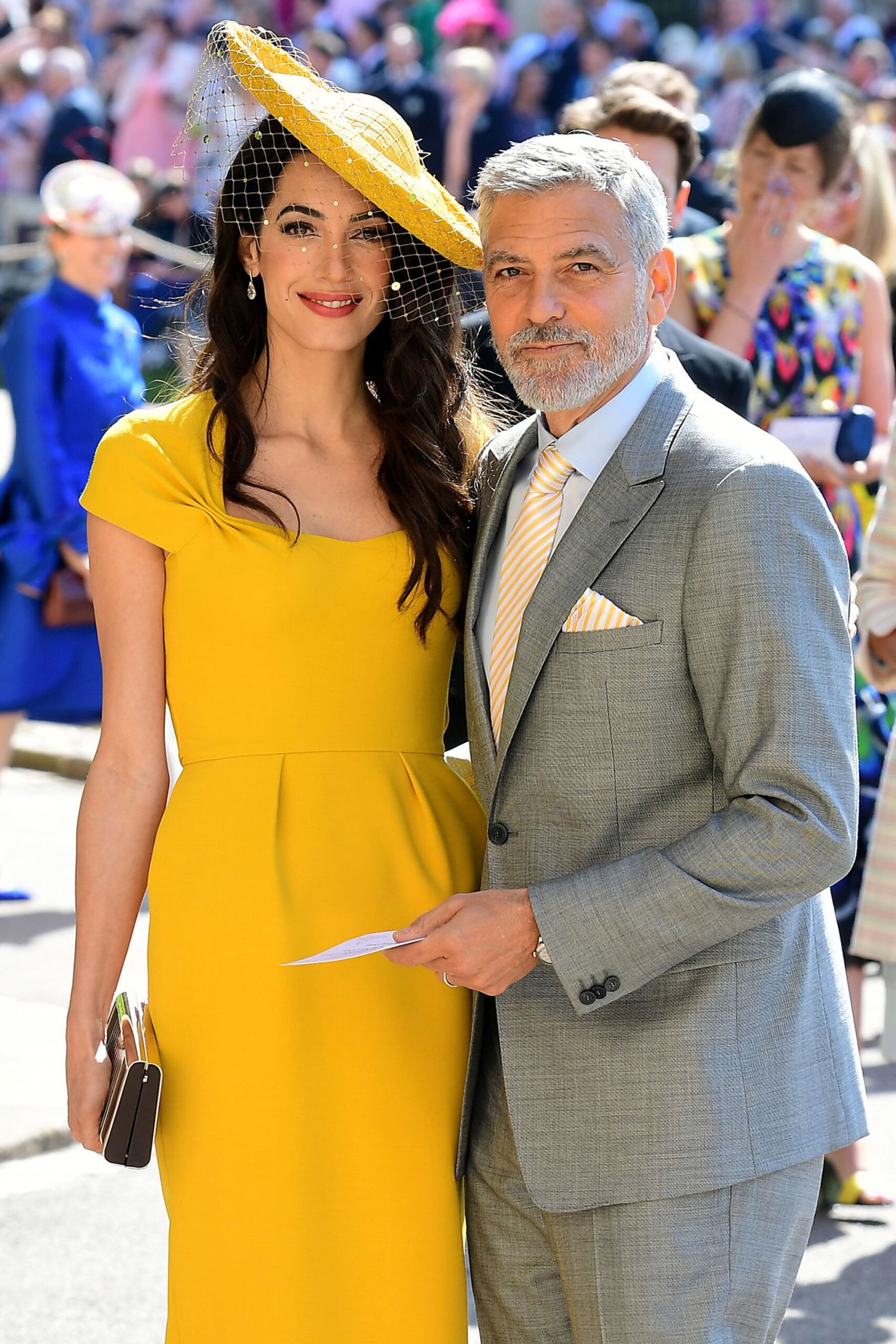 George Clooney și Amal, la nunta Prințului Harry cu Meghan Markle