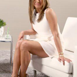 Jennifer Aniston, imagine de pe platourile de filmare de la Variety Studio