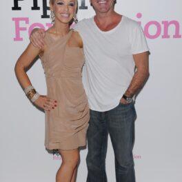 Katie Piper alături de Simon Cowell la evenimentul de lansare al Fundației ce poartă numele modelului