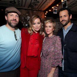 Kristen Wiig și Avi Rothman alături de Olivia Wilde și Jason Sudeikis