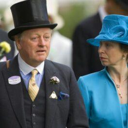 Prințesa Anne și Andrew Parker Bowles la un eveniment îmbrăcați elegant