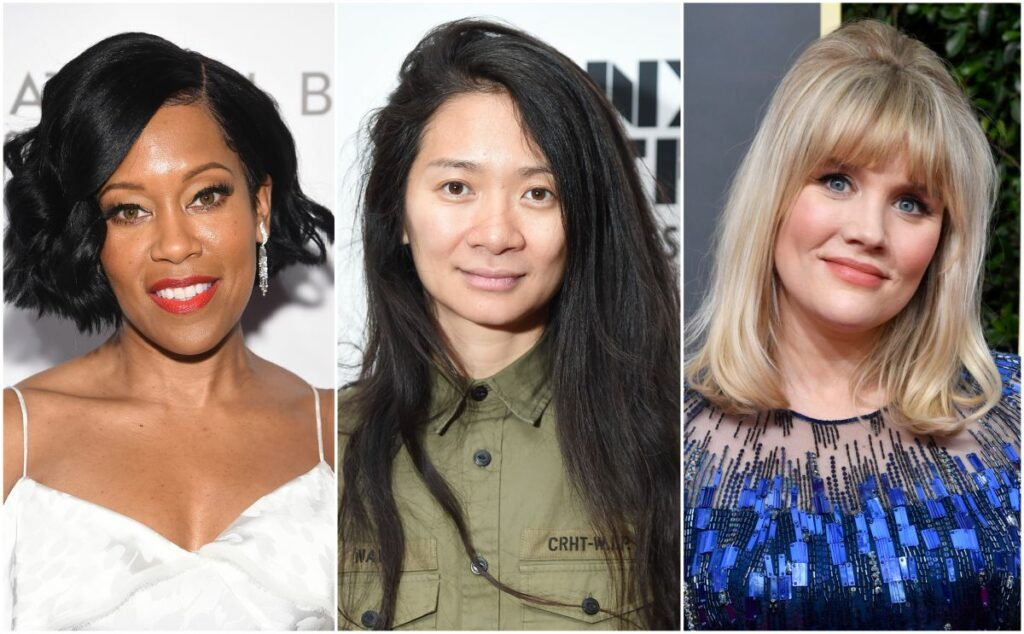 Colaj cu Regina King, Chloe Zhao și Emerald Fennell