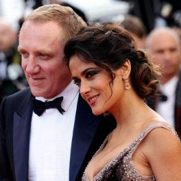 Salma Hayek și soțul ei, Francois Henri Pinault, la Premiile Filmului de la Cannes