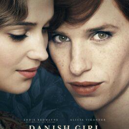 Eddie Redmayne și Alicia Vikander pe afișul filmului The Danish Girl