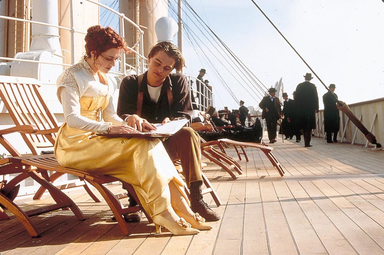 Imagine din Titanic, o producție care merită un loc aparte pe lista de filme perfecte pentru Ziua Îndrăgostiților