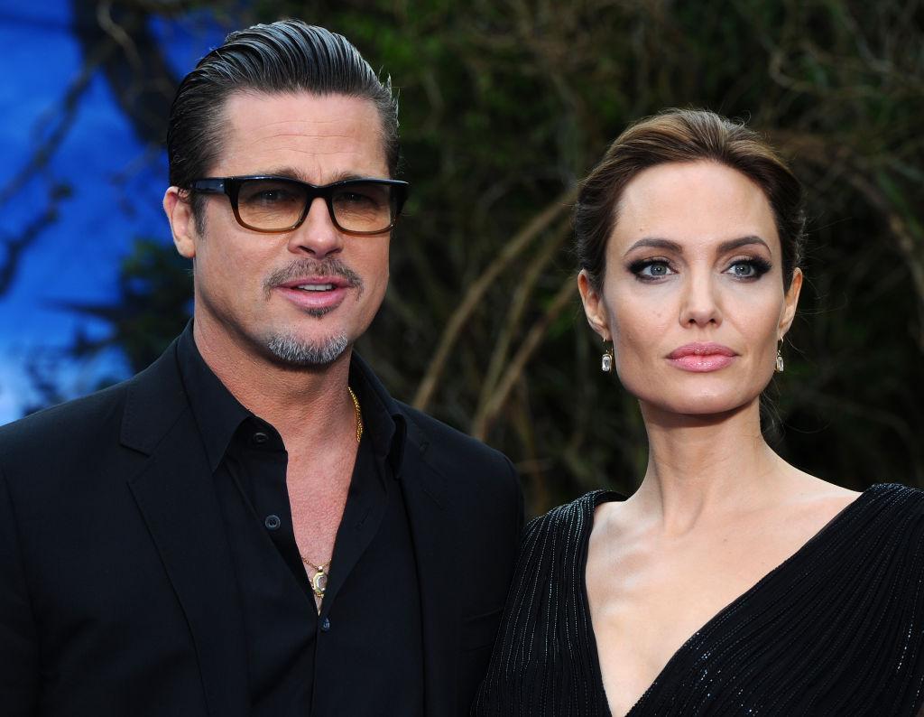 Angelina Jolie și Brad Pitt, pe covorul roșu, la Premiera Maleficent