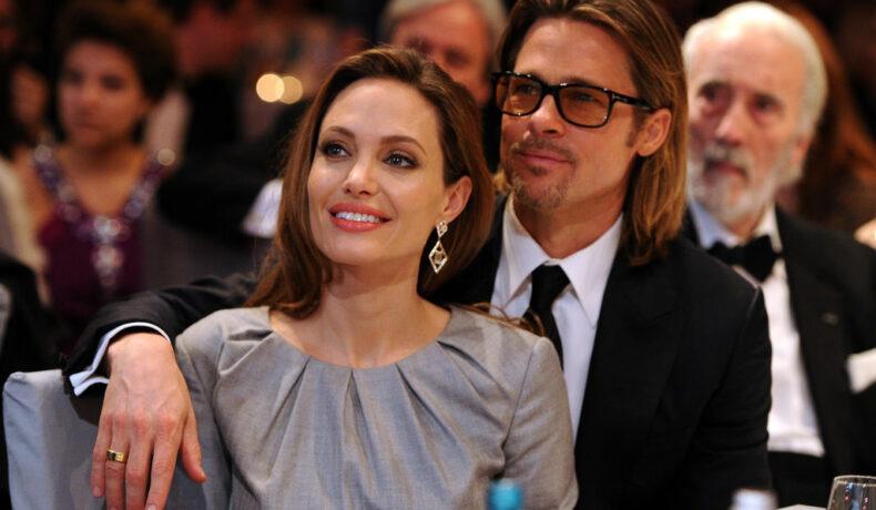 Brad Pitt și Angelina Jolie la Berlin International Film Festival în anul 2012