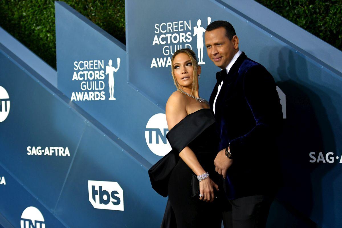 Jennifer Lopez și Alex Rodriguez, îmbrăcați în negru la ActorsGuild Awards 2020, s-au despărțit