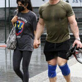 John Cena, pozat în timp ce iese dintr-o sală de sport cu cea de-a doua soție