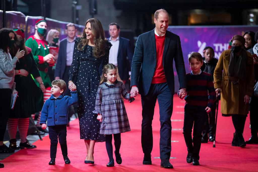 Ducii de Cambridge și copiii lor, la un eveniment organizat în semn de mulțumire pentru muncitorii din sectoarele vitale