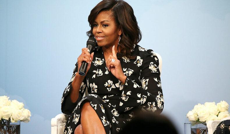 Michelle Obama, fotografiată în cadrul unei conferințe în care susține dreptul femeilor la educație