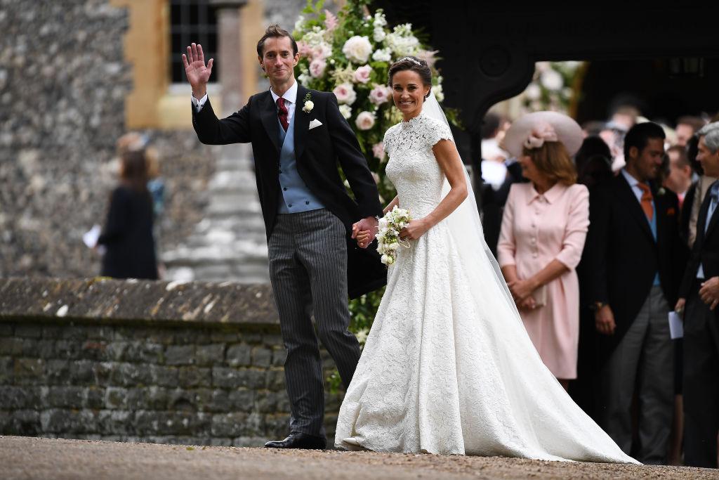 Pippa Middleton și James Matthews, la nunta lor, în anul 2017