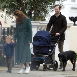 Pippa Middleton, prima apariție publică alături de cei doi copii