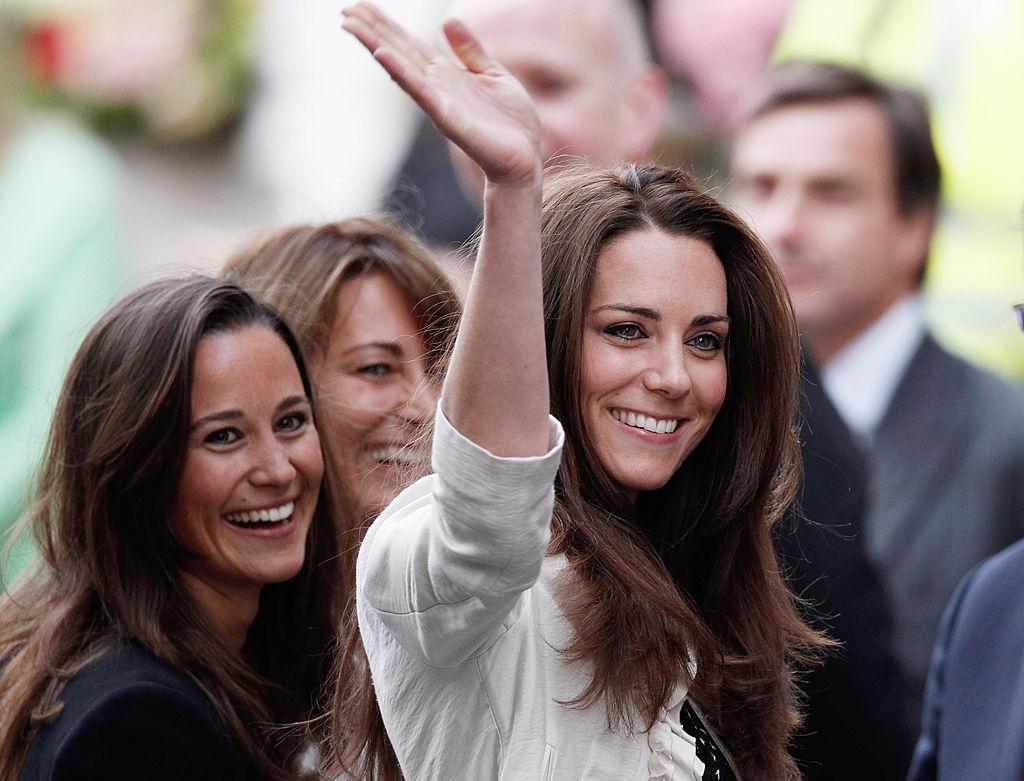 Pippa Middleton alături de Ducesa de Cambridge la pregătirile pentru nunta cu Prințul William