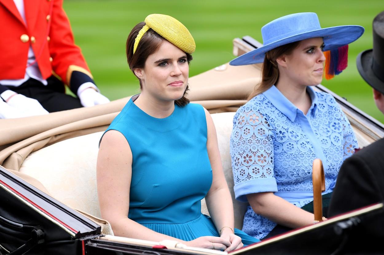 Prințesa Eugenie, îmbrăcată elegant, la un eveniment de familie, Royal Ascot