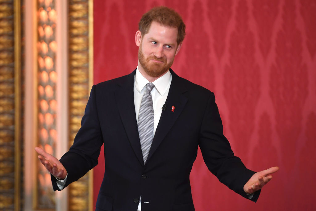Prințul Harry, la The Rugby League World Cup 2021