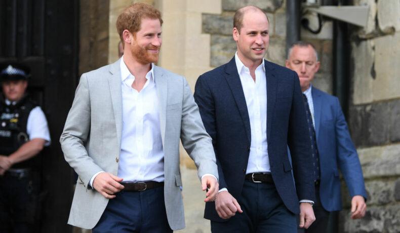 Prințul William și Prințul Harry, împreună la pregătirile pentru nunta lui Harry cu Meghan Markle