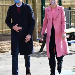 Prințul William și Kate Middleton, împreună, la o școală din Londra