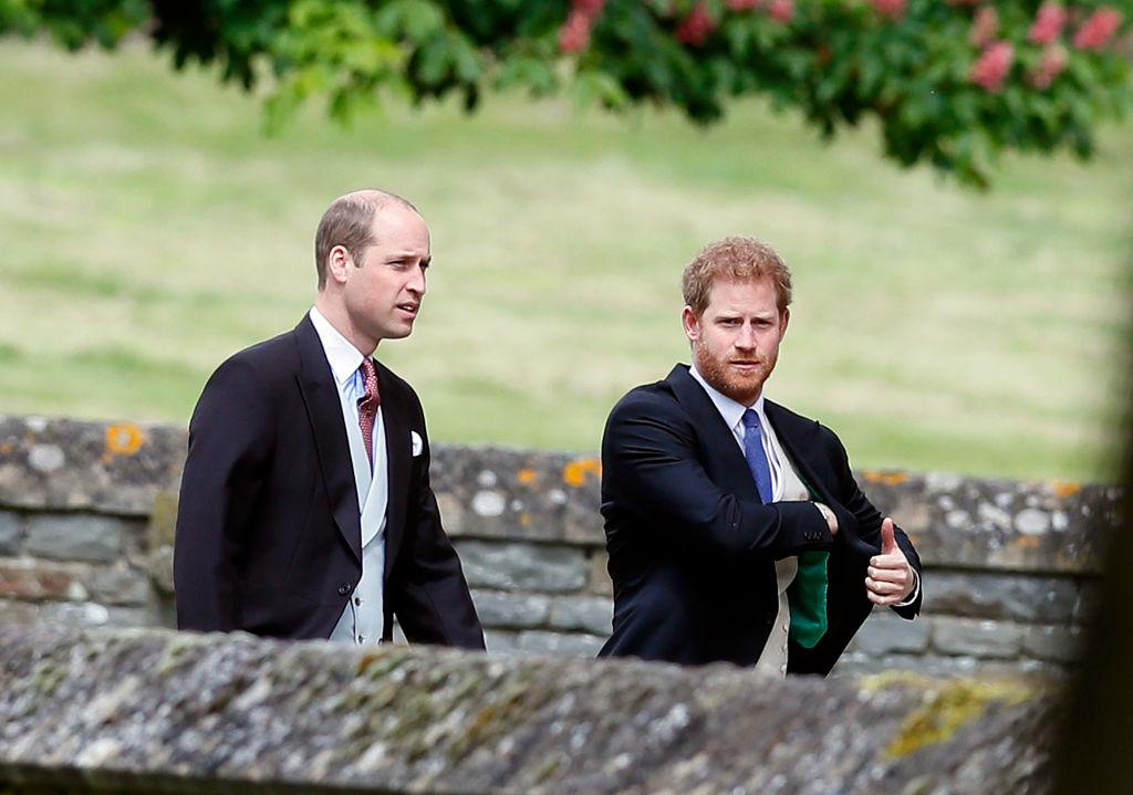 Prințul William și Prințul Harry, la nunta Pippei Middleton cu James Matthews