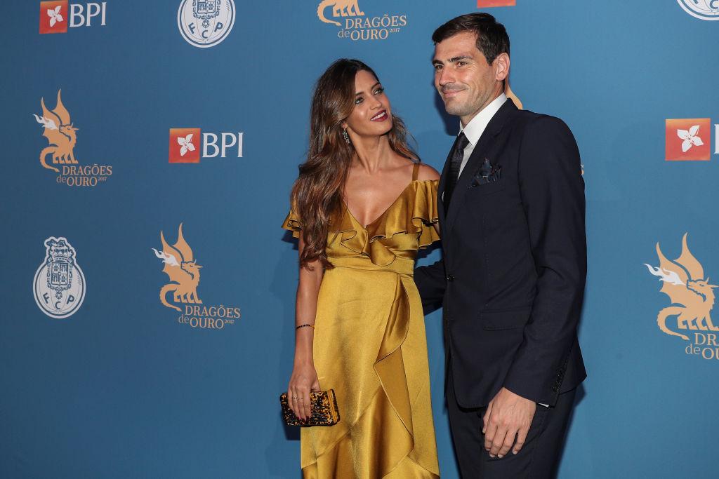 Sara Carbonero și Iker Casillas, la un eveniment sportiv în anul 2016