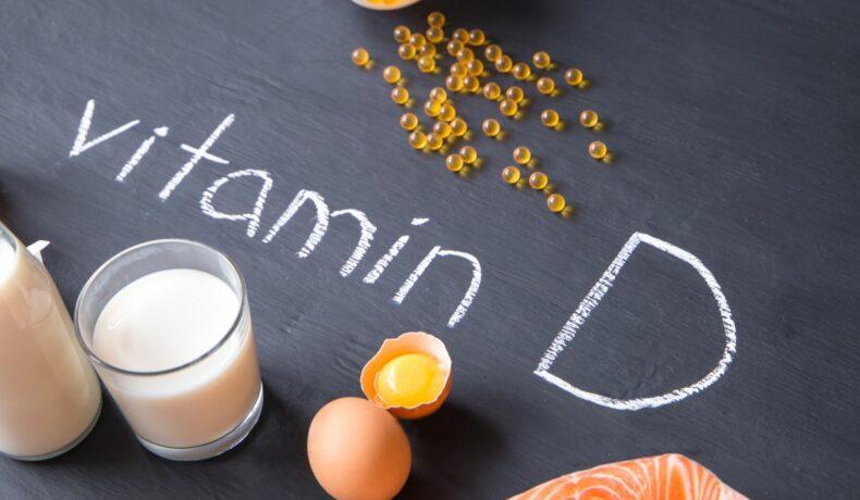 Măncăruri care conțin vitamina D, printre care, lapte, ouă, somon, suplimente