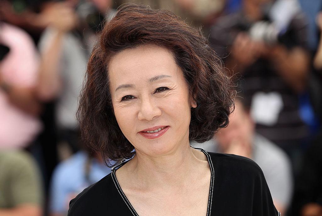 Youn Yuh-jung, la festivalul de Film de la Cannes, pe covorul roșu