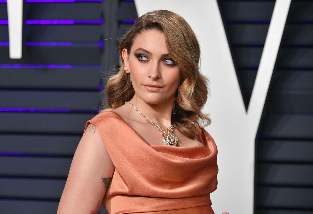 Paris Jackson, la petrecerea Vanity Fair, într-o rochie elegantă în 2019
