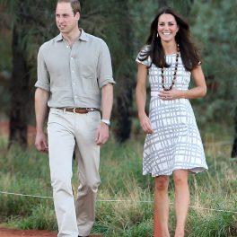 Ducii de Cambridge, fotografiați la plimbare, la începutul relației lor