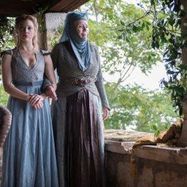 Natalie Dormer, pe platourile de filmare de la Game of Thrones