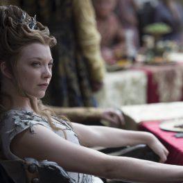 Natalie Dormer, la filmările pentru Game of Thrones