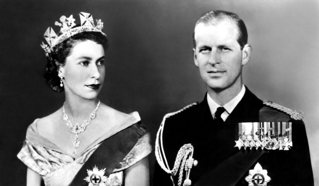 Regina Elisabeta și Prințul Philip, imagine din tinerețe, în primii ani de căsătorie