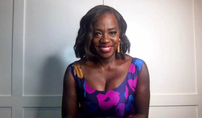 Viola Davis, imagine din timpul decernării SAG Awards 2021