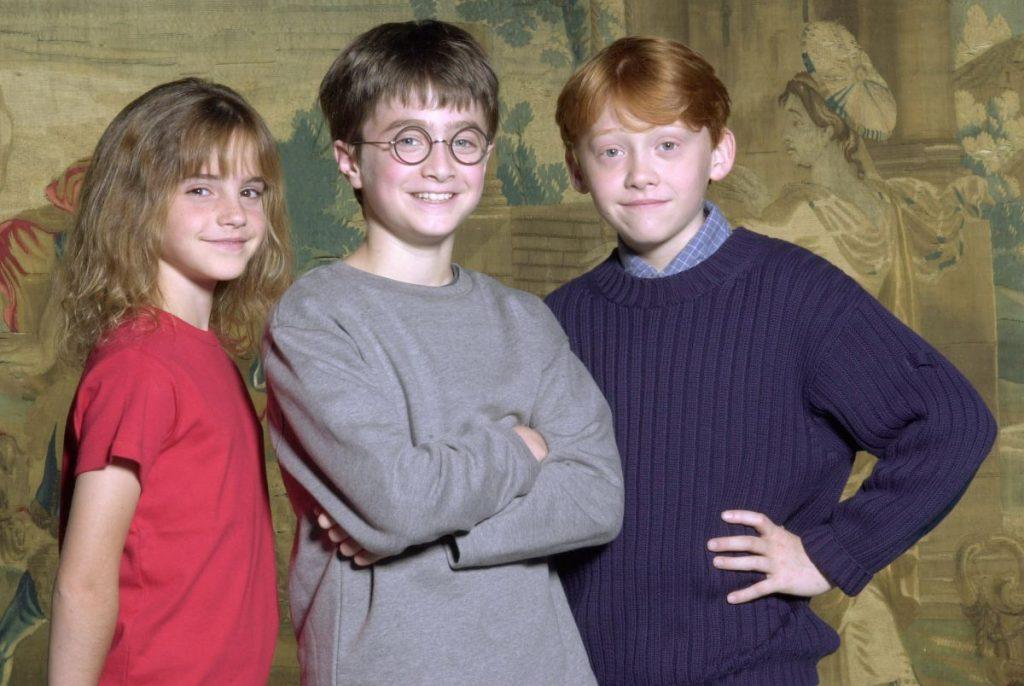 Emma Watson, Daniel Radcliffe și Rupert Grint