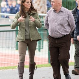 Kate Middleton vizitează Sayers Croft Forest School, în Londra