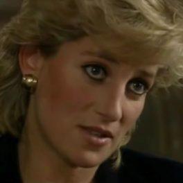 Prințesa Diana în timpul interviului pentru Panorama din 1995
