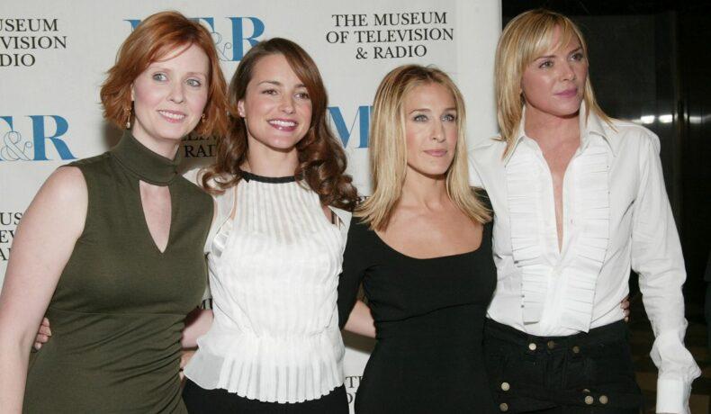Cele patru actrițe ale serialului Sex and the City, fotografiate împreună la un eveniment monden